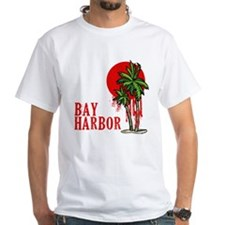Bay Harbor with Palm Tree Shirt