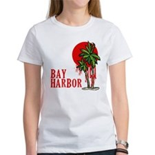Bay Harbor with Palm Tree Tee
