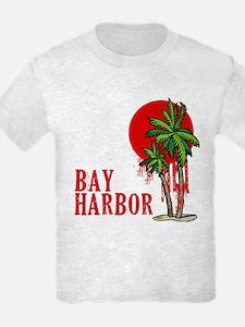 Bay Harbor with Palm Tree T-Shirt