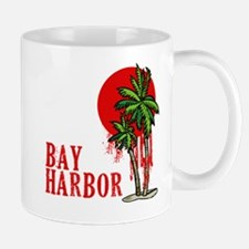 Bay Harbor with Palm Tree Mug
