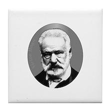 Victor Hugo Tile Coaster