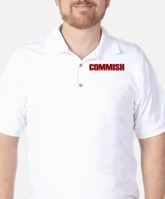 Commish (Red) T-Shirt