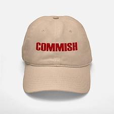 Commish (Red) Baseball Baseball Cap