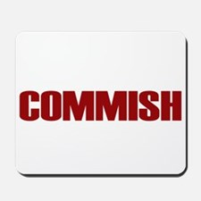 Commish (Red) Mousepad