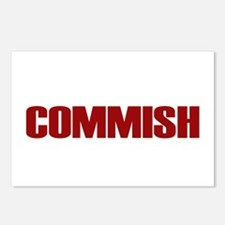Commish (Red) Postcards (Package of 8)
