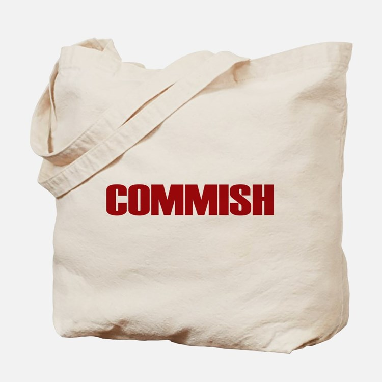 Commish (Red) Tote Bag