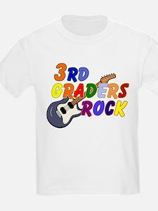 3rd Graders Rock T-Shirt