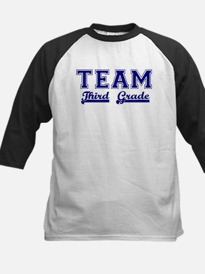 Team Third Grade Kids Baseball Jersey