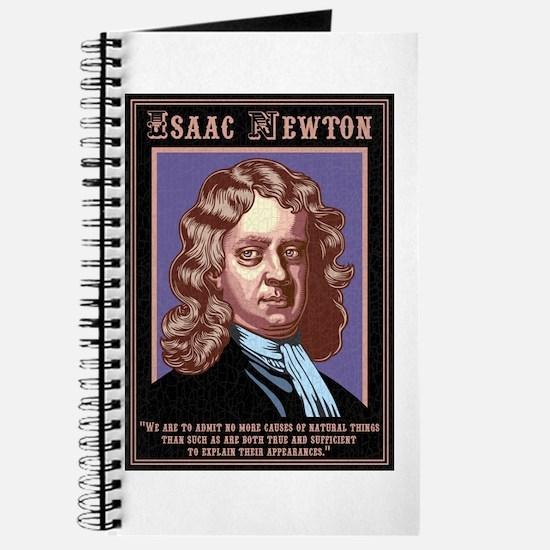 Isaac Newton -Causes Journal