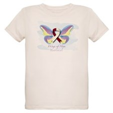 Head & Neck Cancer Wings of H T-Shirt