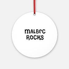 MALBEC ROCKS Ornament (Round)