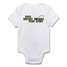 Fantasy Football Team Sucks Infant Bodysuit