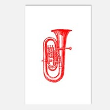 Red Tuba Postcards (Package of 8)