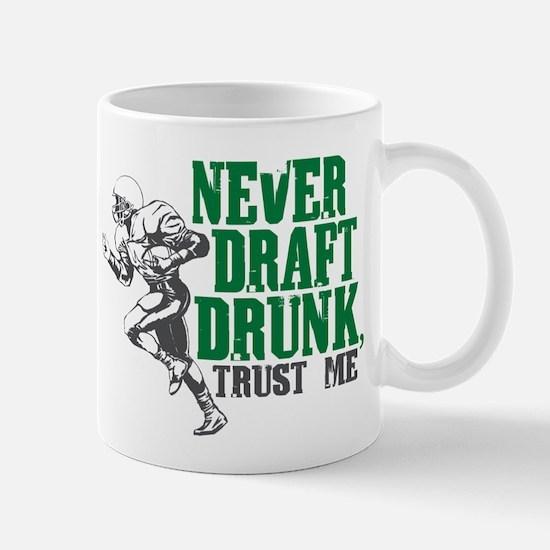 Fantasy Football Draft Drunk Mug