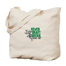 Fantasy Football Draft Drunk Tote Bag