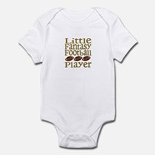 Little Fantasy Football Player Infant Bodysuit