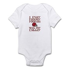 Fantasy Football with Daddy Infant Bodysuit