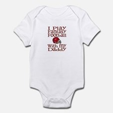 Fantasy Football with Daddy Infant Bodysuit