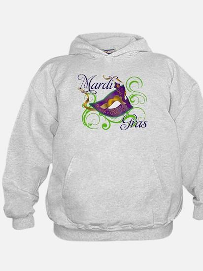 Mardi Gras Design 5 Hoodie