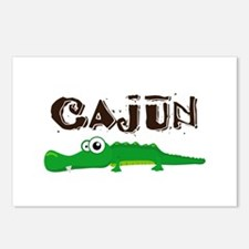 Cajun Gator Postcards (Package of 8)