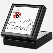 Ladybug Sarah Keepsake Box