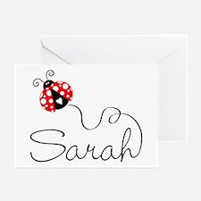 Ladybug Sarah Greeting Cards (Pk of 20)