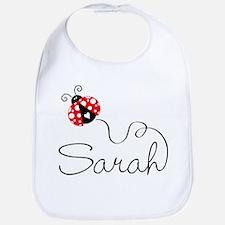 Ladybug Sarah Bib