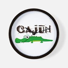 Cajun Gator Wall Clock