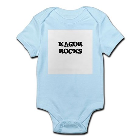 KAGOR ROCKS Infant Creeper