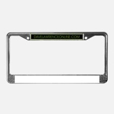 Cute Lawrence License Plate Frame
