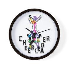 Stunt Pattern 2 Wall Clock