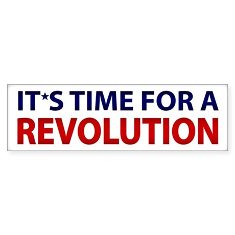 It's Time For A Revolution
