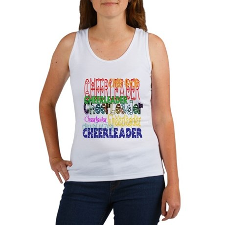 Multi Cheerleader Women's Tank Top