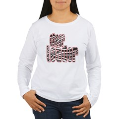 Zebra Cheerleader T-Shirt