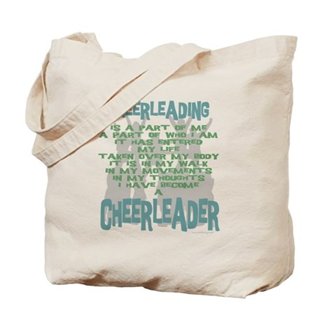 Become a Cheerleader Tote Bag
