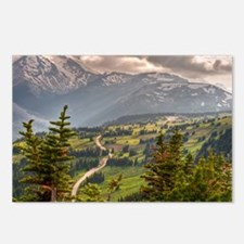 Funny Mount rainier Postcards (Package of 8)
