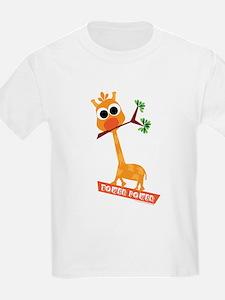 Giraffe Tower Power T-Shirt