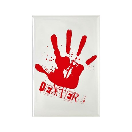Dexter 3 Rectangle Magnet (100 pack)