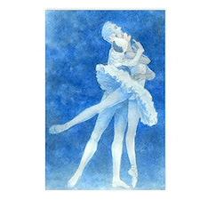 Swan Lake Ballet Postcards (Package of 8)