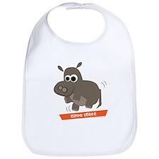 Hippo Shake tee Bib