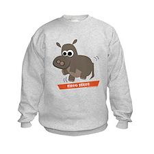 Hippo Shake tee Sweatshirt