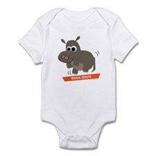 Hippo Shake tee Infant Bodysuit