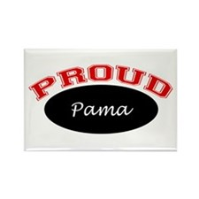 Proud Pama Rectangle Magnet (10 pack)