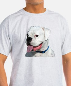 White Boxer Dog T-Shirt