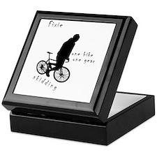 Fixie Skidding Keepsake Box