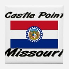 Castle Point Missouri Tile Coaster
