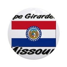 Cape Girardeau Missouri Ornament (Round)