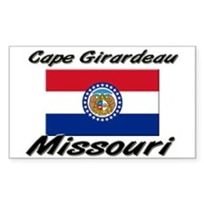 Cape Girardeau Missouri Rectangle Decal