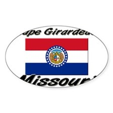 Cape Girardeau Missouri Oval Decal