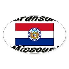 Branson Missouri Oval Decal
